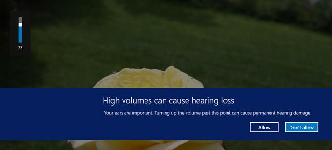 High VOlumes can cause hearing loss Realtek bug