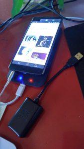 LG V10 as wireless DAC