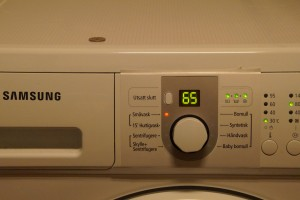 Feilkode samsung vaskemaskin